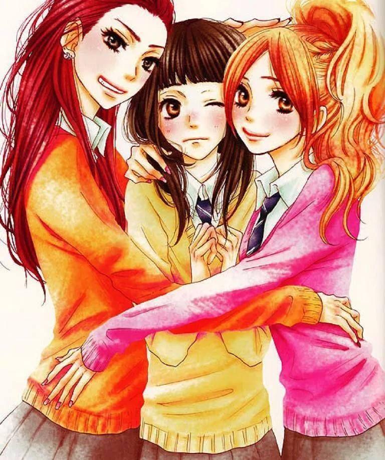 Aiko, Mei and Asami Sukiitte Ii Na Yo Anime & Manga