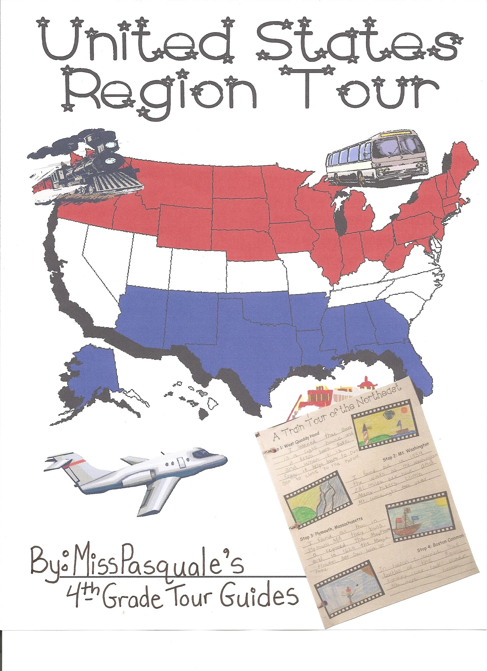 Webquest Tour The Regions Of The United States Created