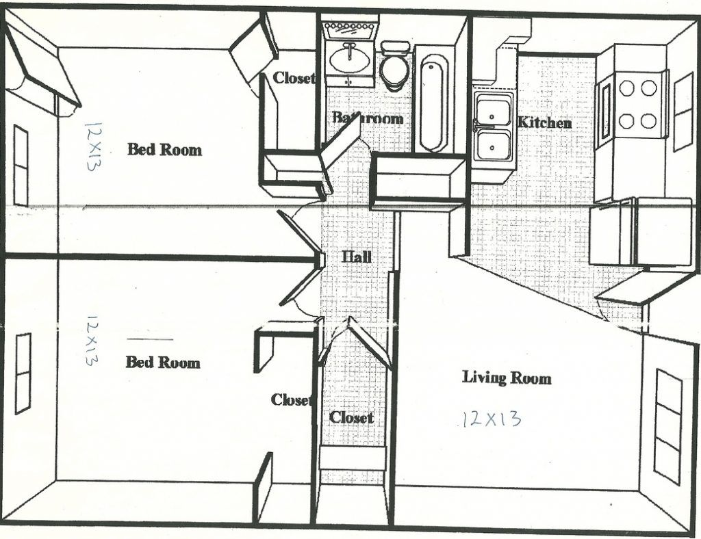 500 Square Feet House Plans 600 Sq Ft Apartment Floor Plan