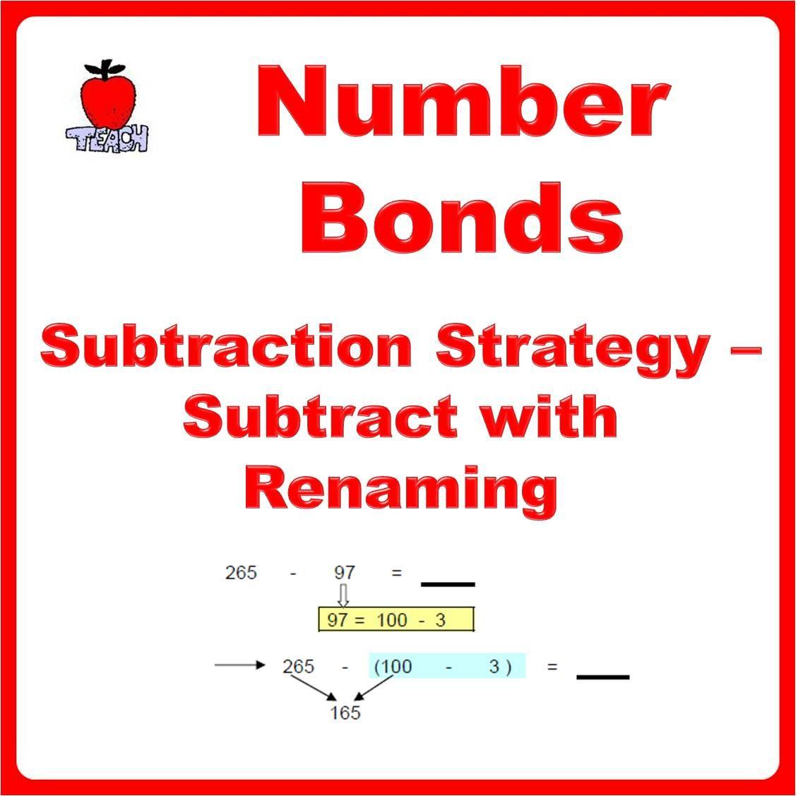 Number B Ds Subtr Cti Str Tegies Subtr Ct With Ren M G