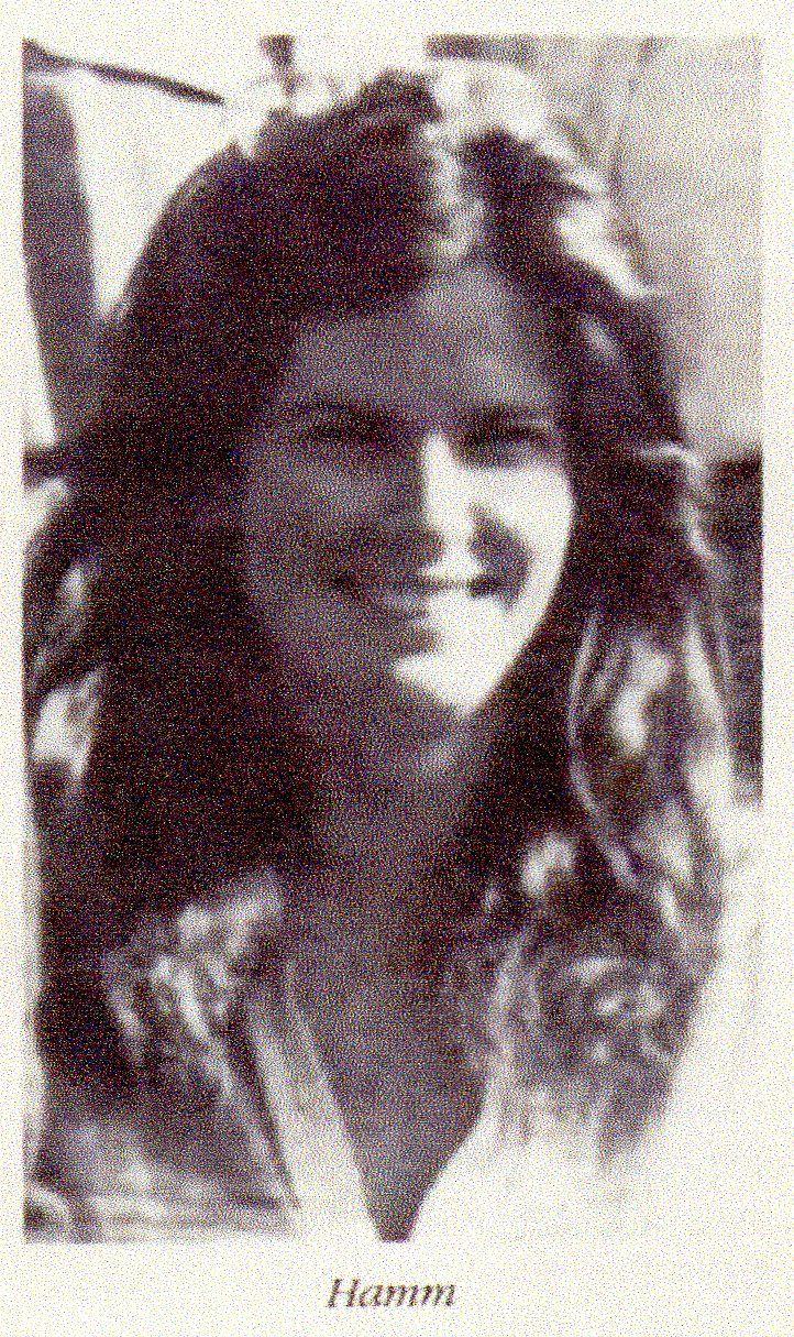 Timothy Spencer's first murder victim, Carolyn Jean Hamm