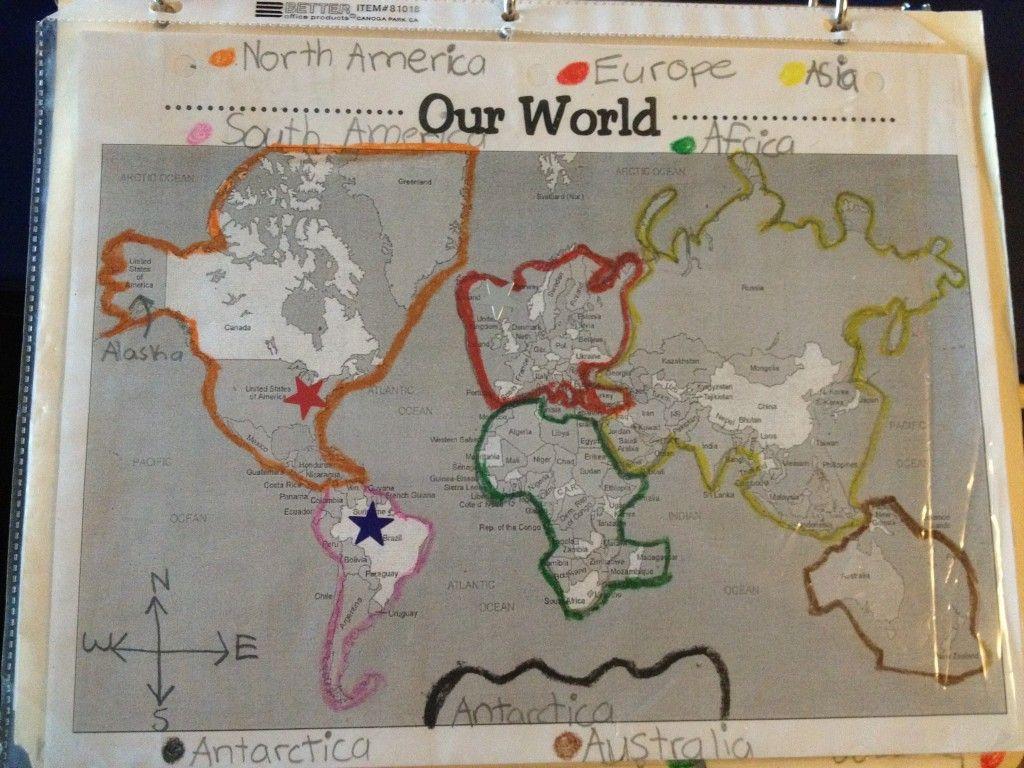 World Geography Unit From A 2nd Grade Teacher Homeschool