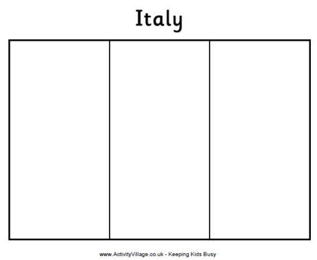 italy flags and colouring pages on pinterest