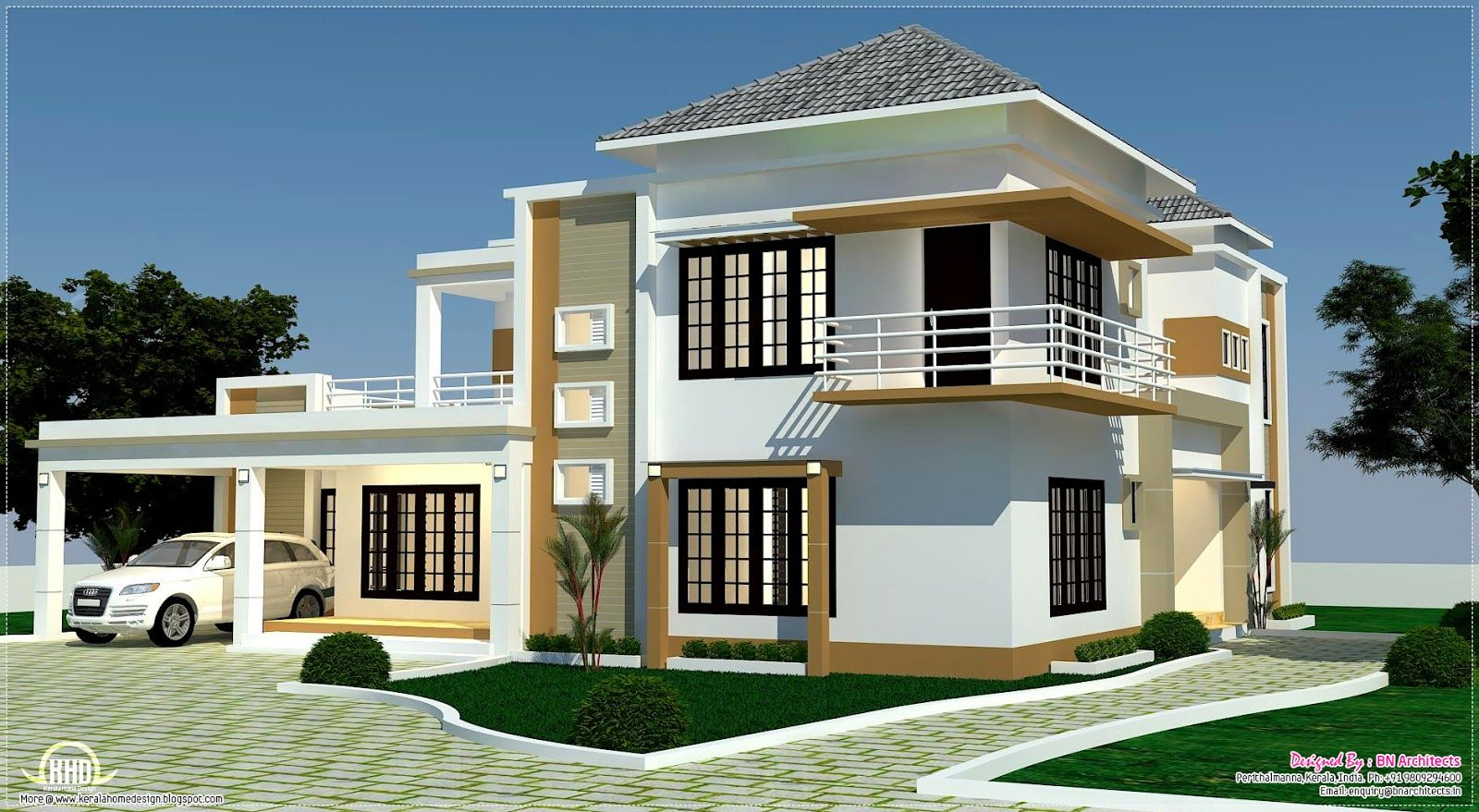 Home Plans One Room School Floor plan, 3D views and