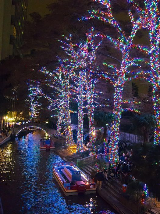 Christmas in Riverwalk, San Antonio, Texas I love Texas