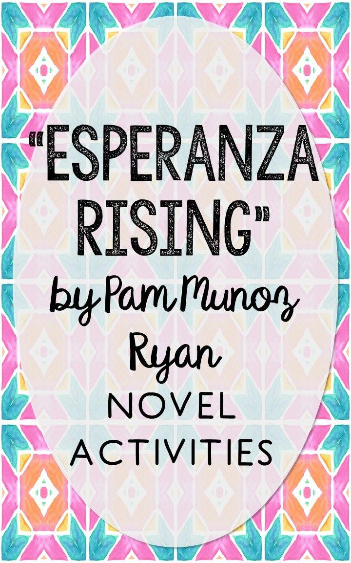 Esper Nz Ris G Novel Unit Study Ctivities Book P Ni