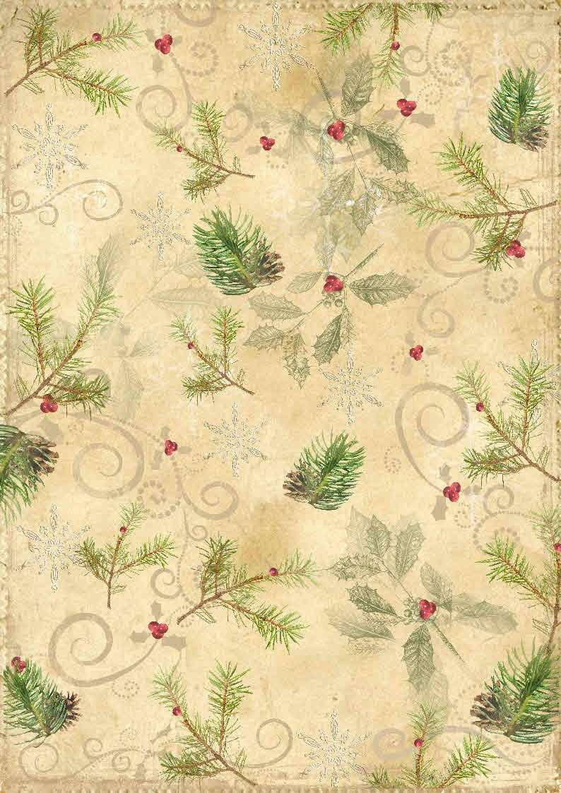 Best Card Making Downloads... Christmas backing paper