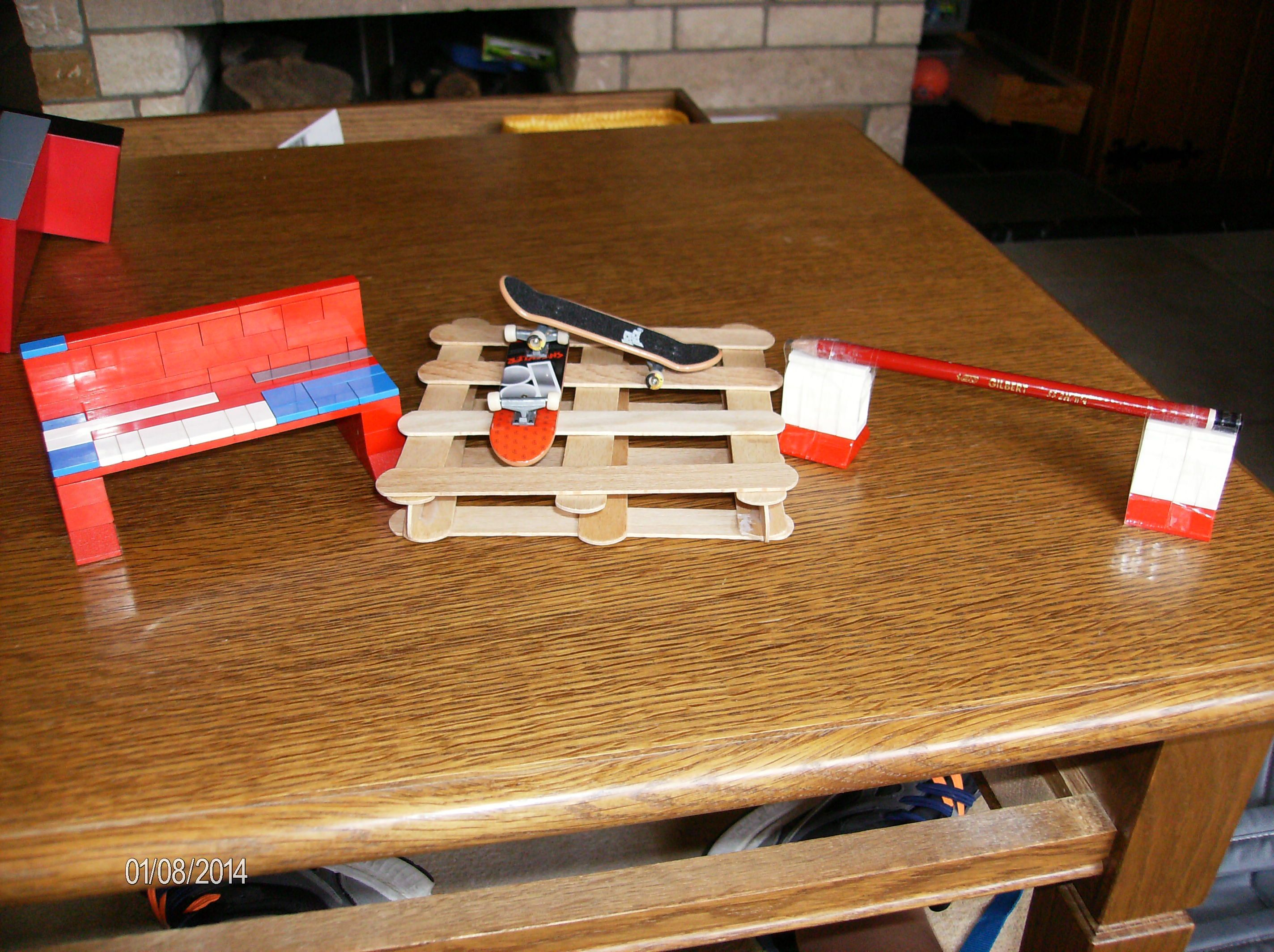 zelf gemaakte ramps tech deck Pinterest Tech deck