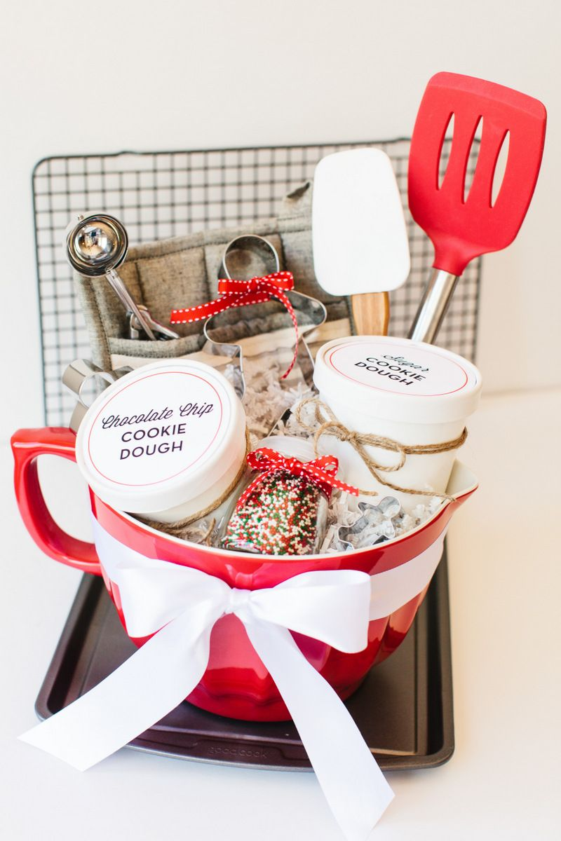 Holiday Cookie Gift Basket Gift baskets, Baskets and