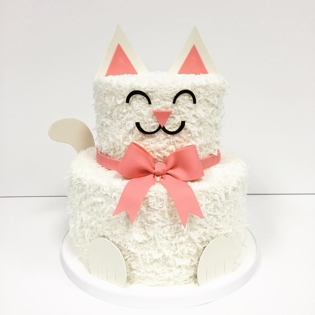Cat Cake Jkarseneau I Know Luke Loves Cats