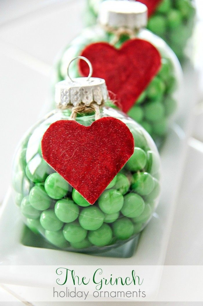 The Grinch Decorations DIY Holiday Ornaments Grinch