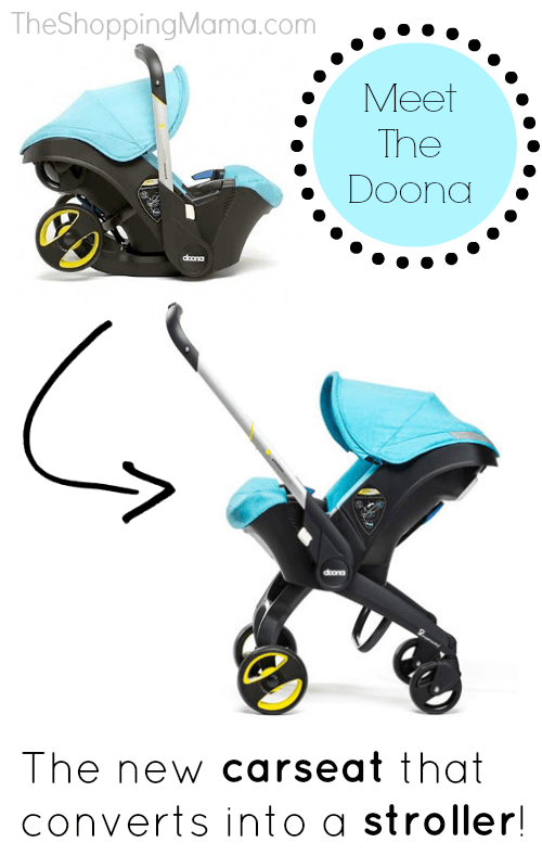 Coming Soon! Doona Infant Carseat That Converts To A
