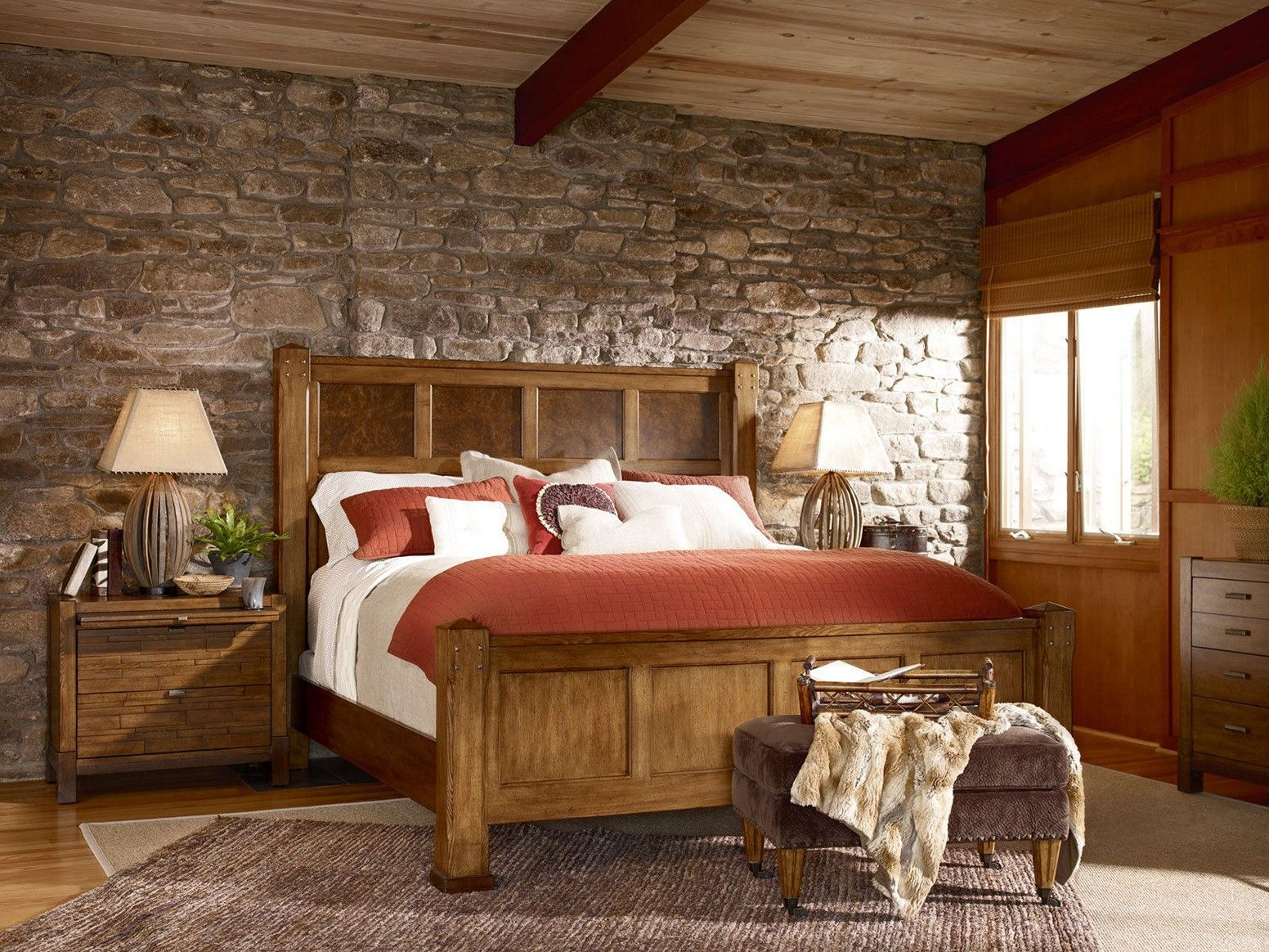 Rustic Country Bedroom Decorating Ideas