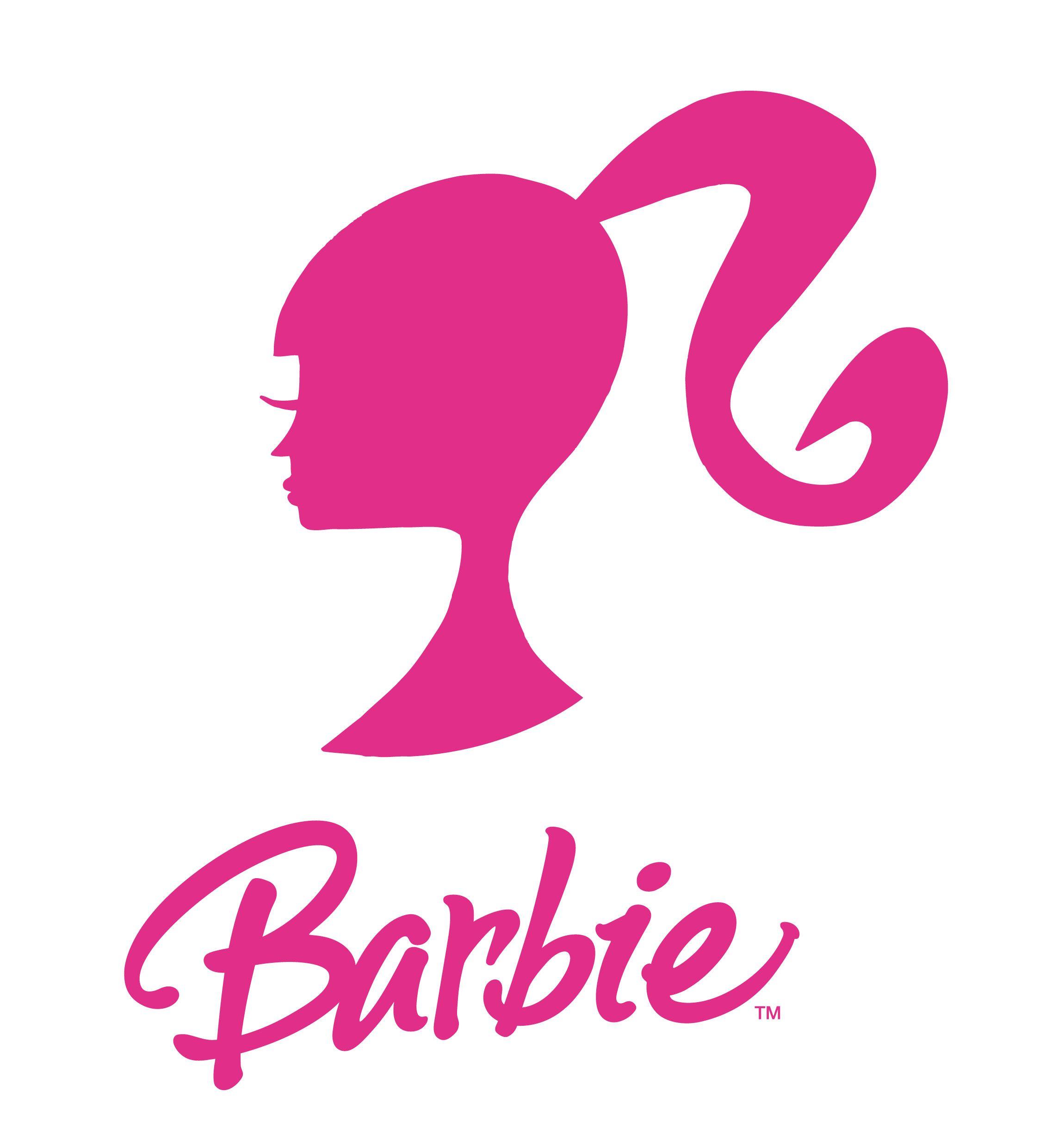 Barbie Logo Pretty in Pink Pinterest Logos
