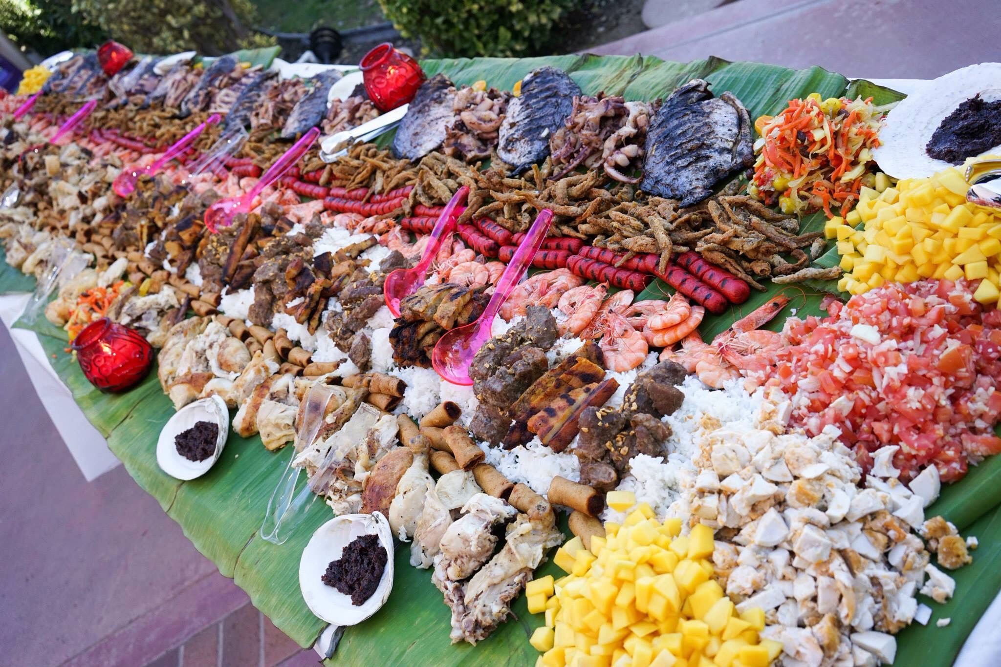 Boodle Fight! Boodle Fight Feast Pinterest Filipino
