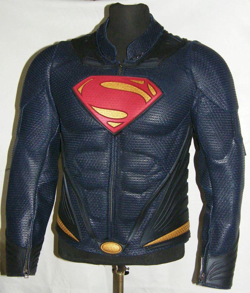 MAN OF STEEL SUPERMAN Leather Jacket my gear