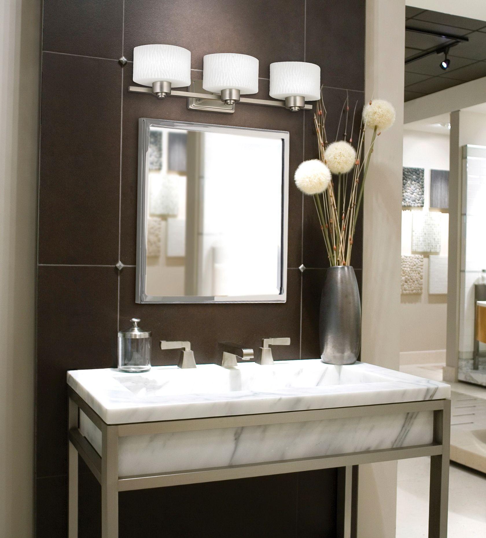image result for bathroom vanity mirrors lights | bathroom