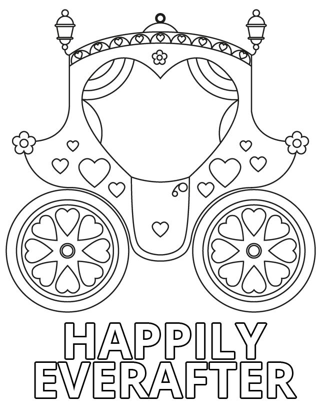 Wedding Coloring Book Pages Home Weddings Happily Ever After There Are Lots Of Pictures At