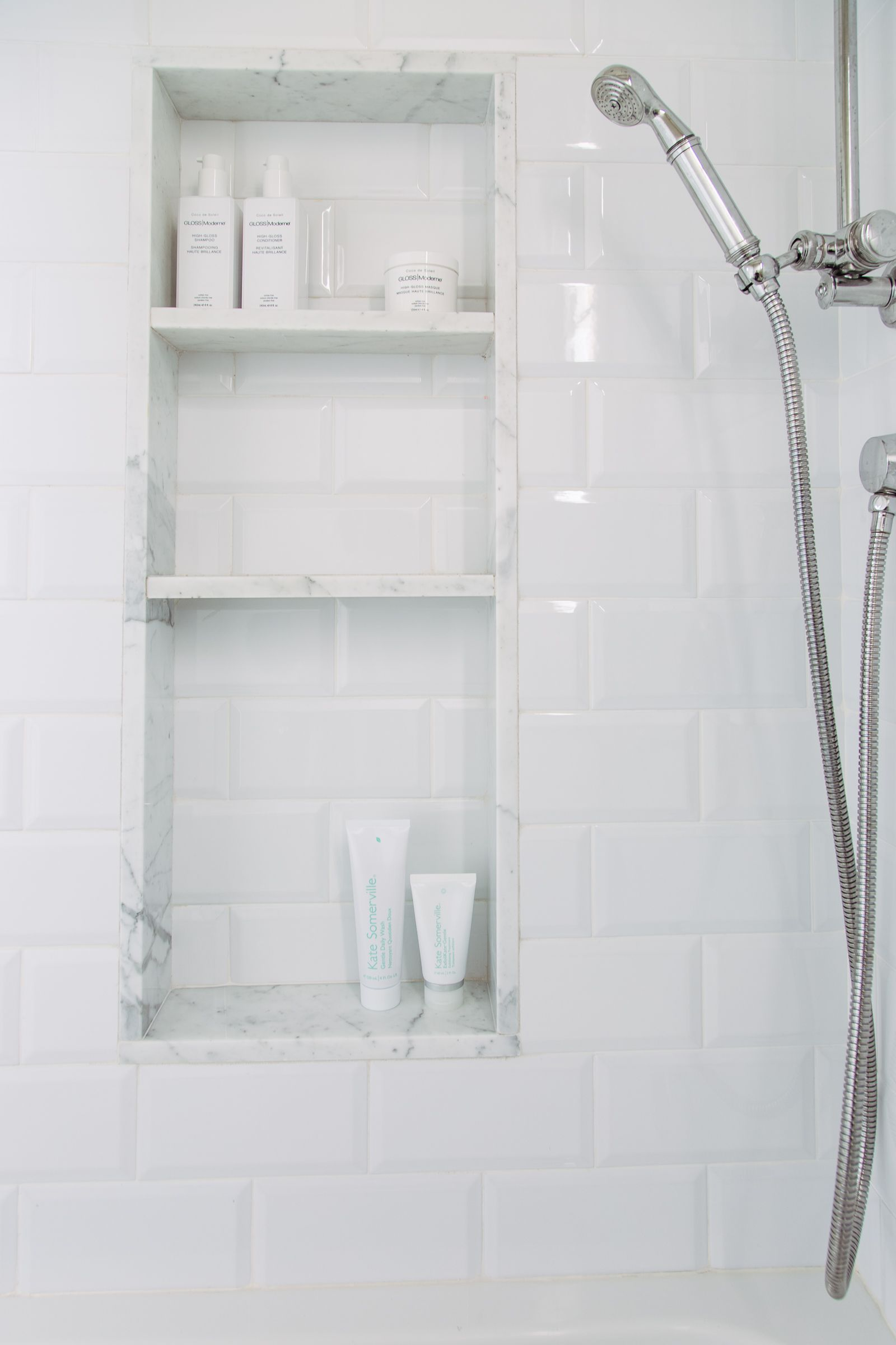 The 25 Best Bathroom Niche Ideas On Pinterest Grey Tile