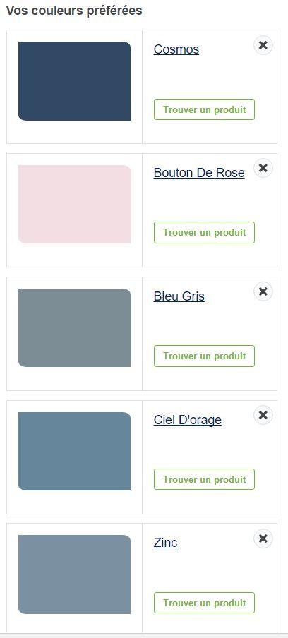 Excellent Peinture Dulux Valentin Nuancier De Gris Bleu Et