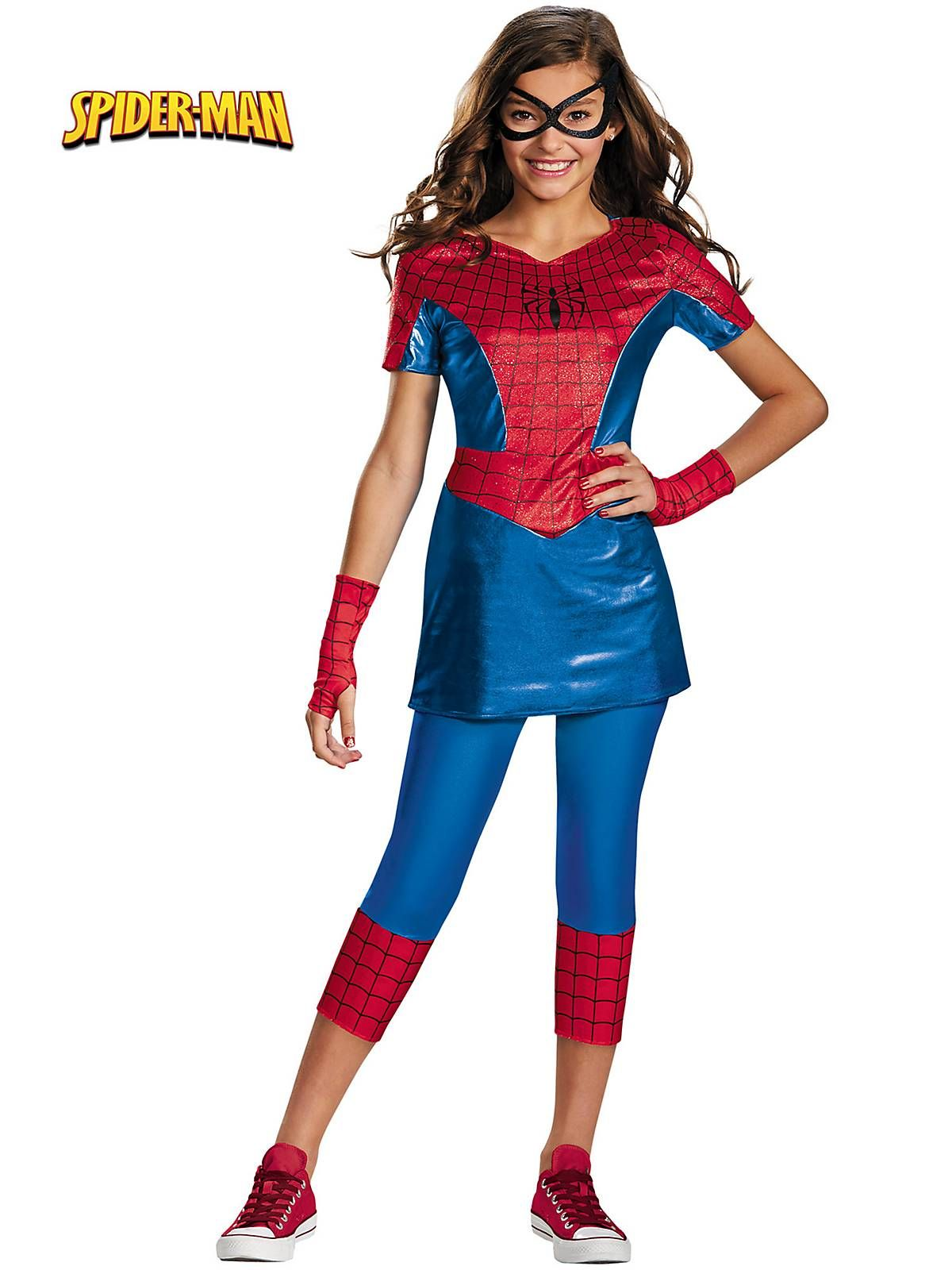 Girl's SpiderGirl Tween Costume! See more costume ideas