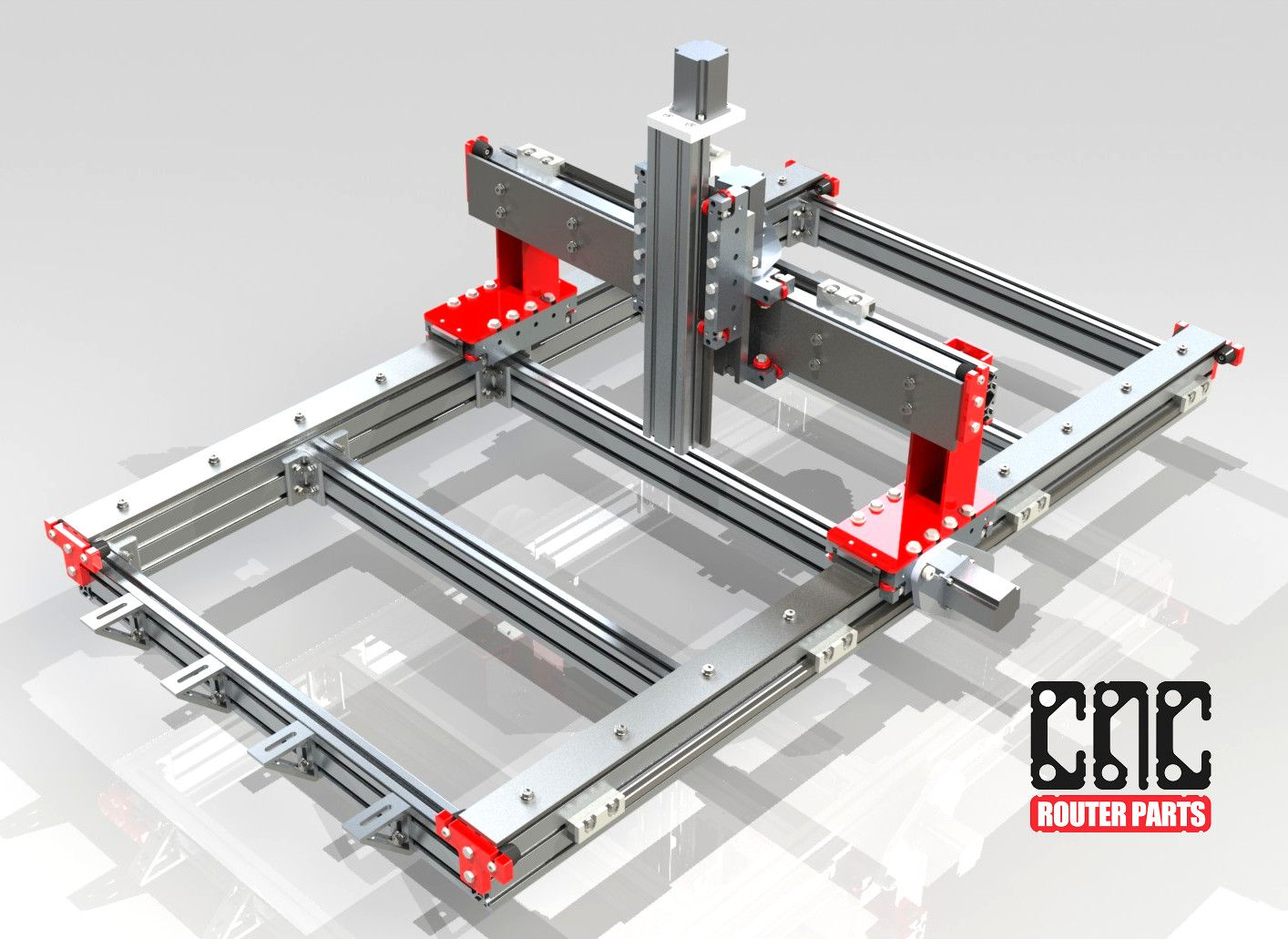 CRP2448 2' x 4' CNC Router Kit. to CNC Router