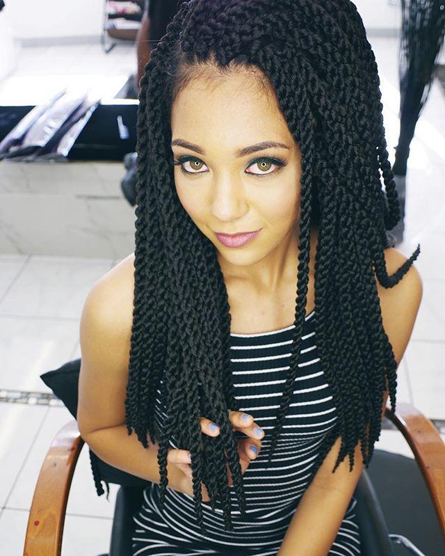 Hair Tutorial Look Afri Naptural 3D Cubic Twist Isis