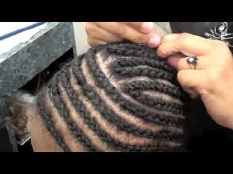 how to sew in weave tracks for invisible part sew in step by step tutorial part 3 youtube