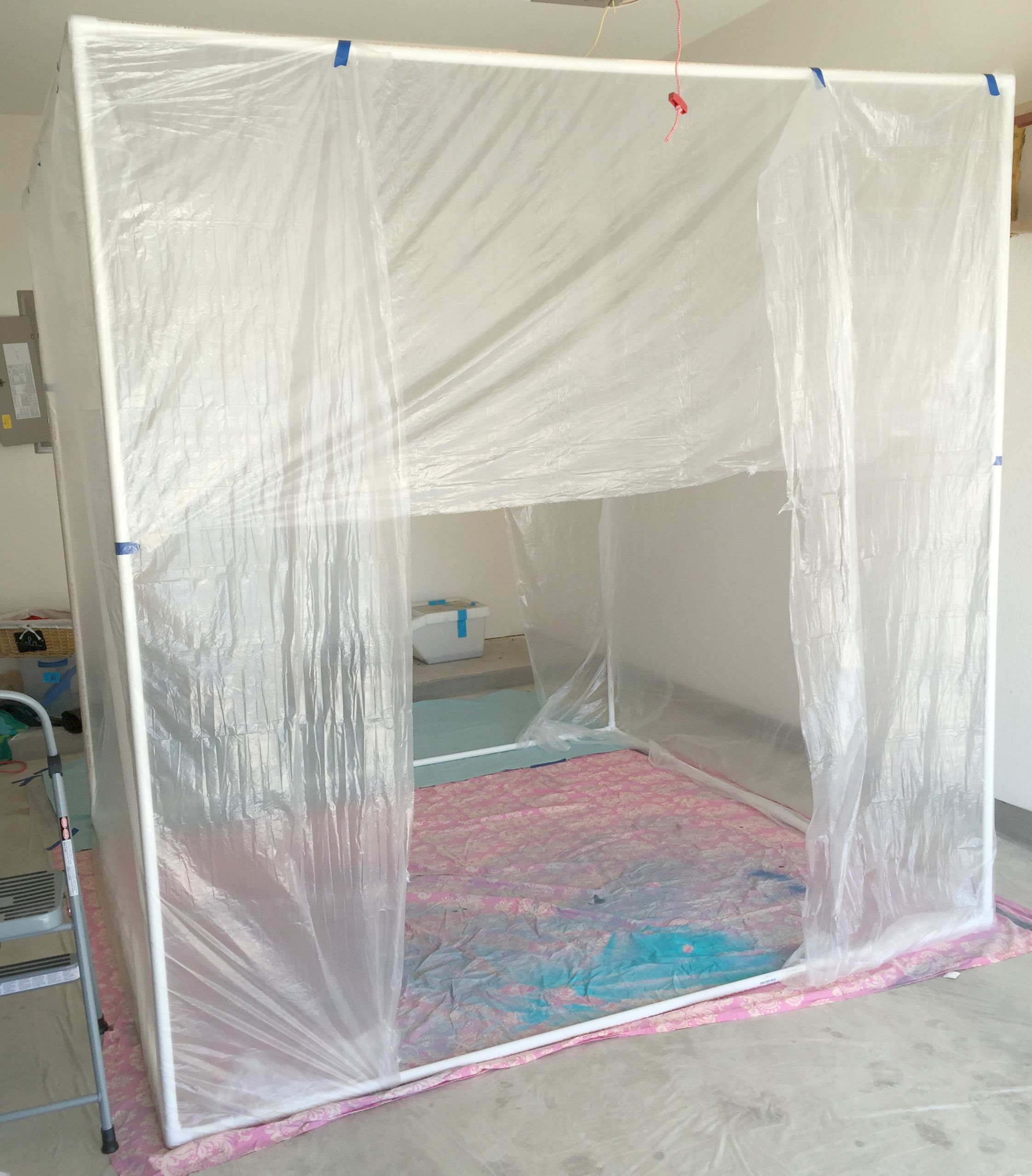 How to Create a Spray Paint Booth Everything you see, I