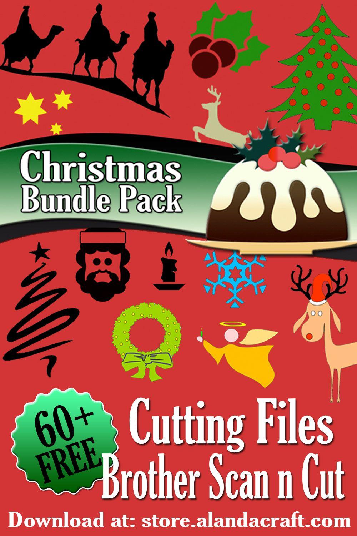 Brother Scan n Cut Christmas Bundle Pack FREE DOWNLOAD