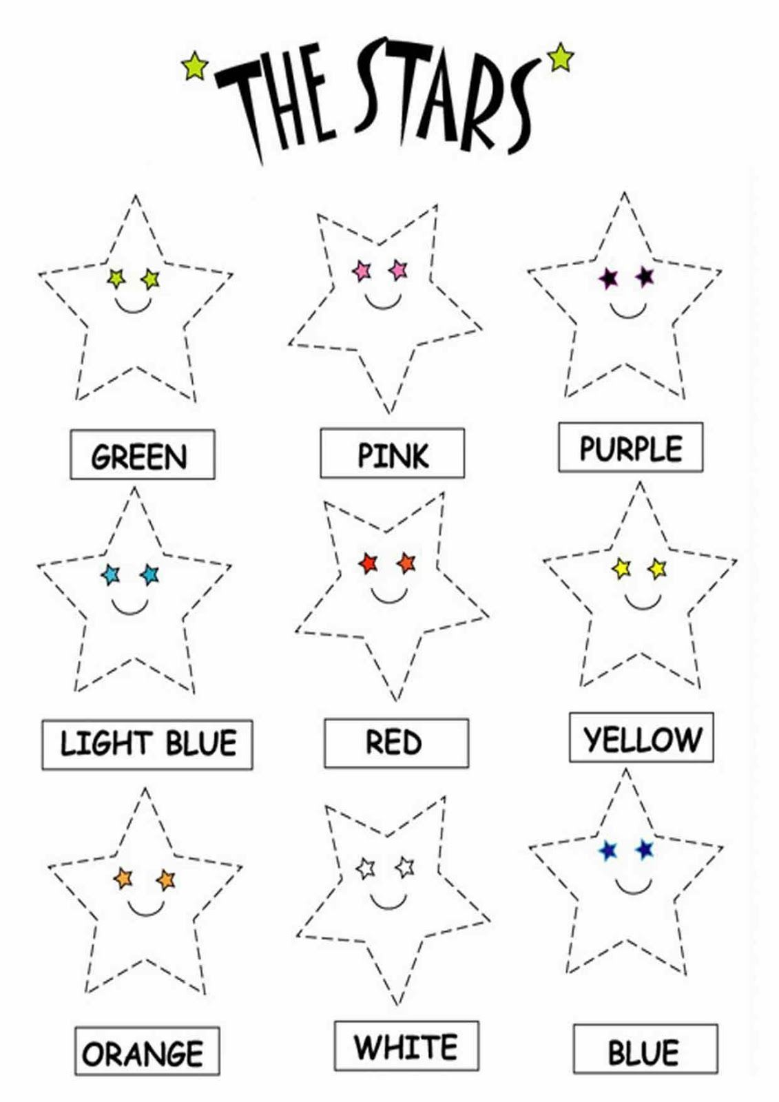 Color The Stars Worksheets Download Free Printable And Interactive Online Color The Stars