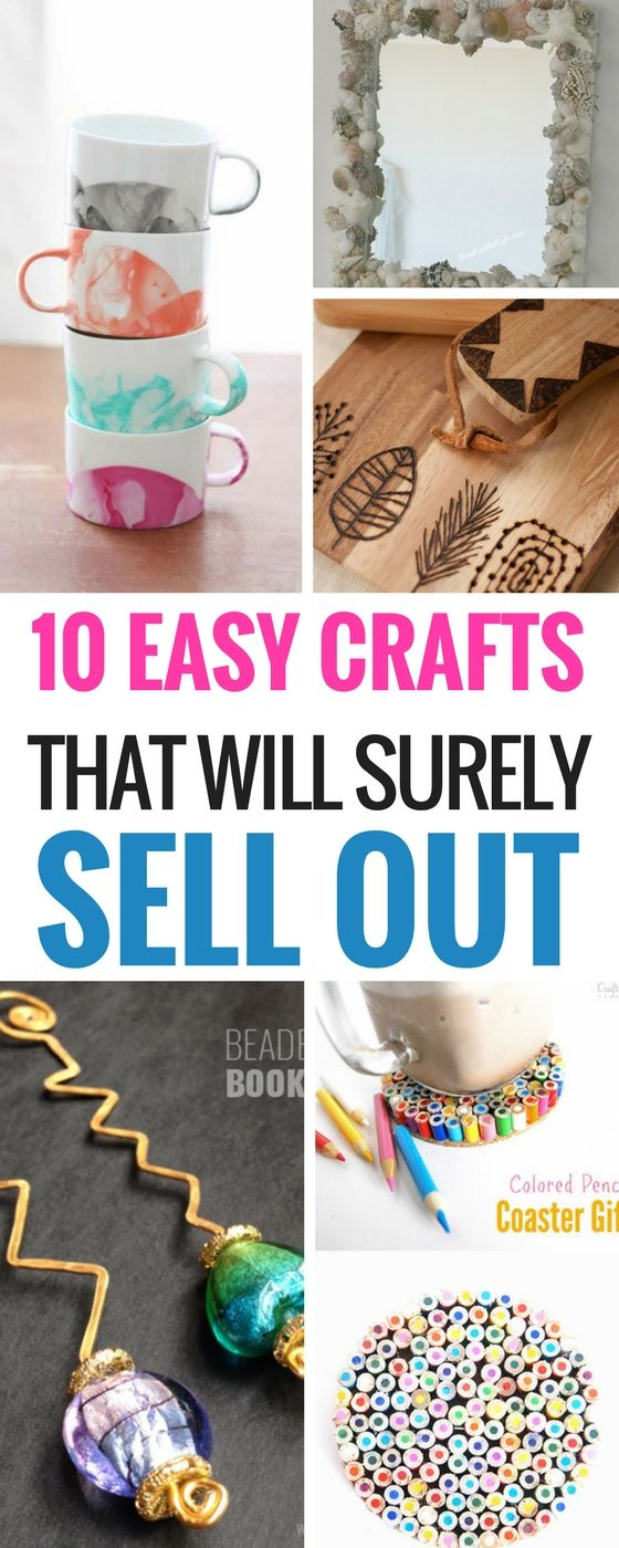 10 Easy DIY Crafts That Will Totally Sell Craft, Crafty