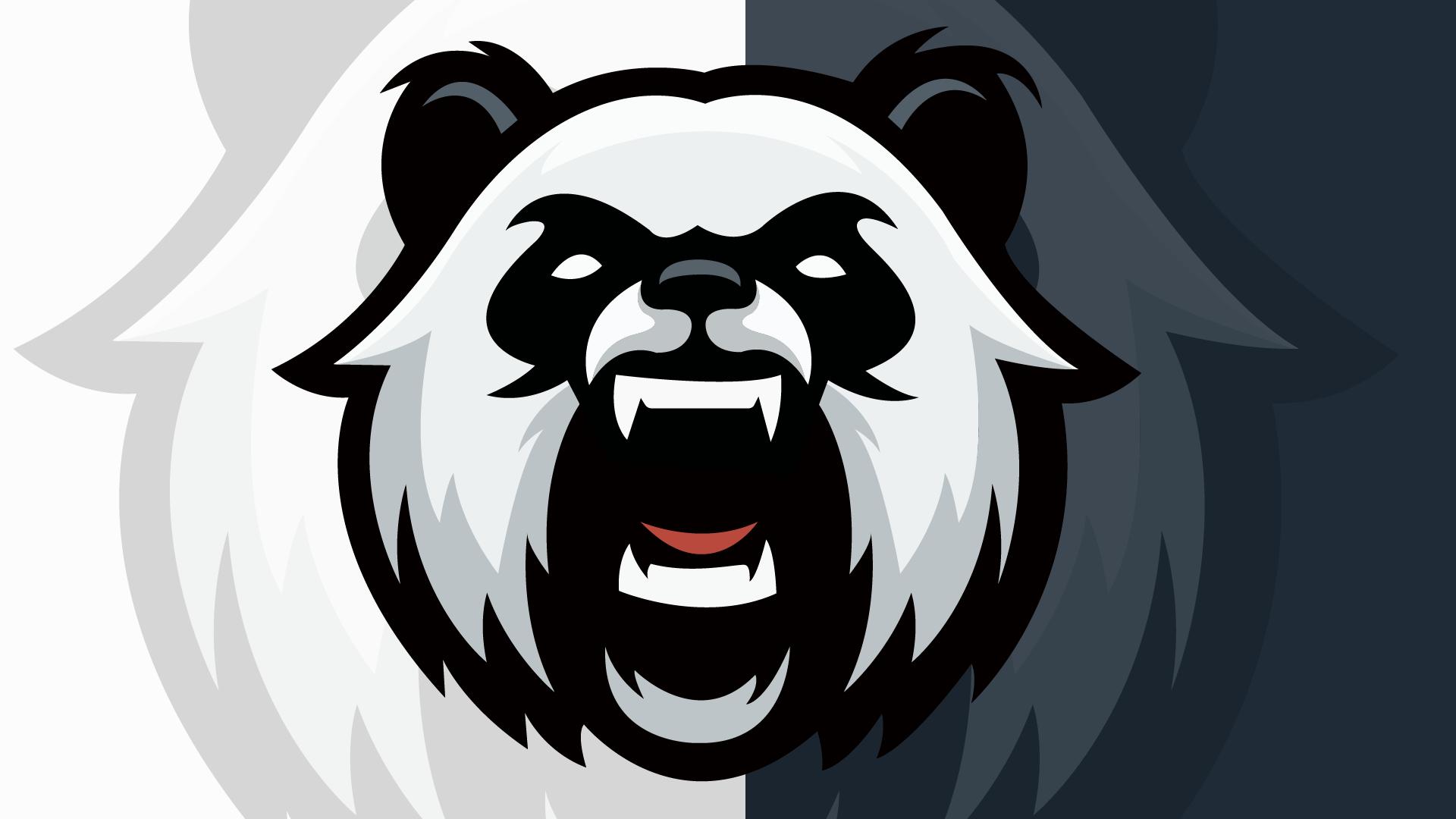 Pin oleh Pix HAT di Panda (Dengan gambar) Logo keren, Seni
