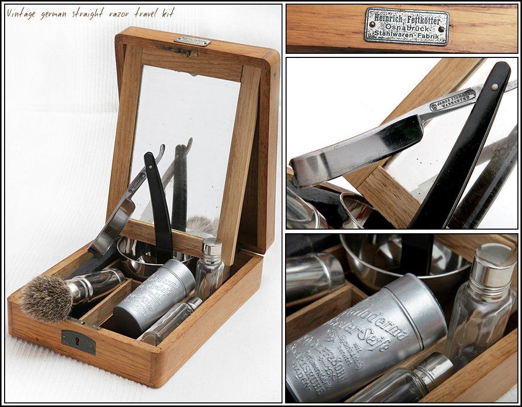 Old shaving kit + Old & Dusty + Pinterest Straight