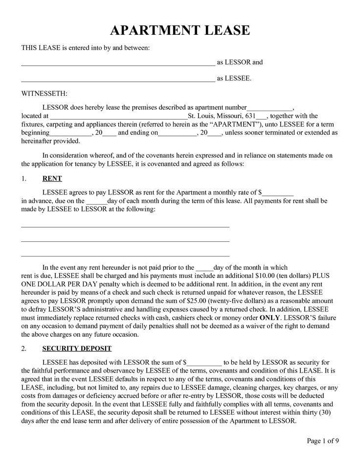 apartment lease agreement template images साठी प्रतिमा परिणाम