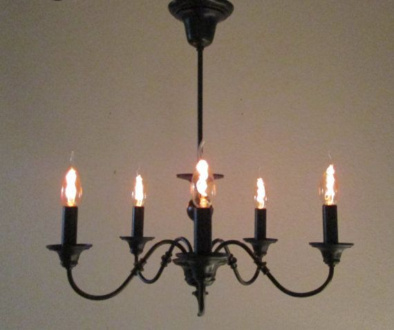 Steampunk Lamp Vintage Chandelier Light Steam Punk Edison Bulb Lighting