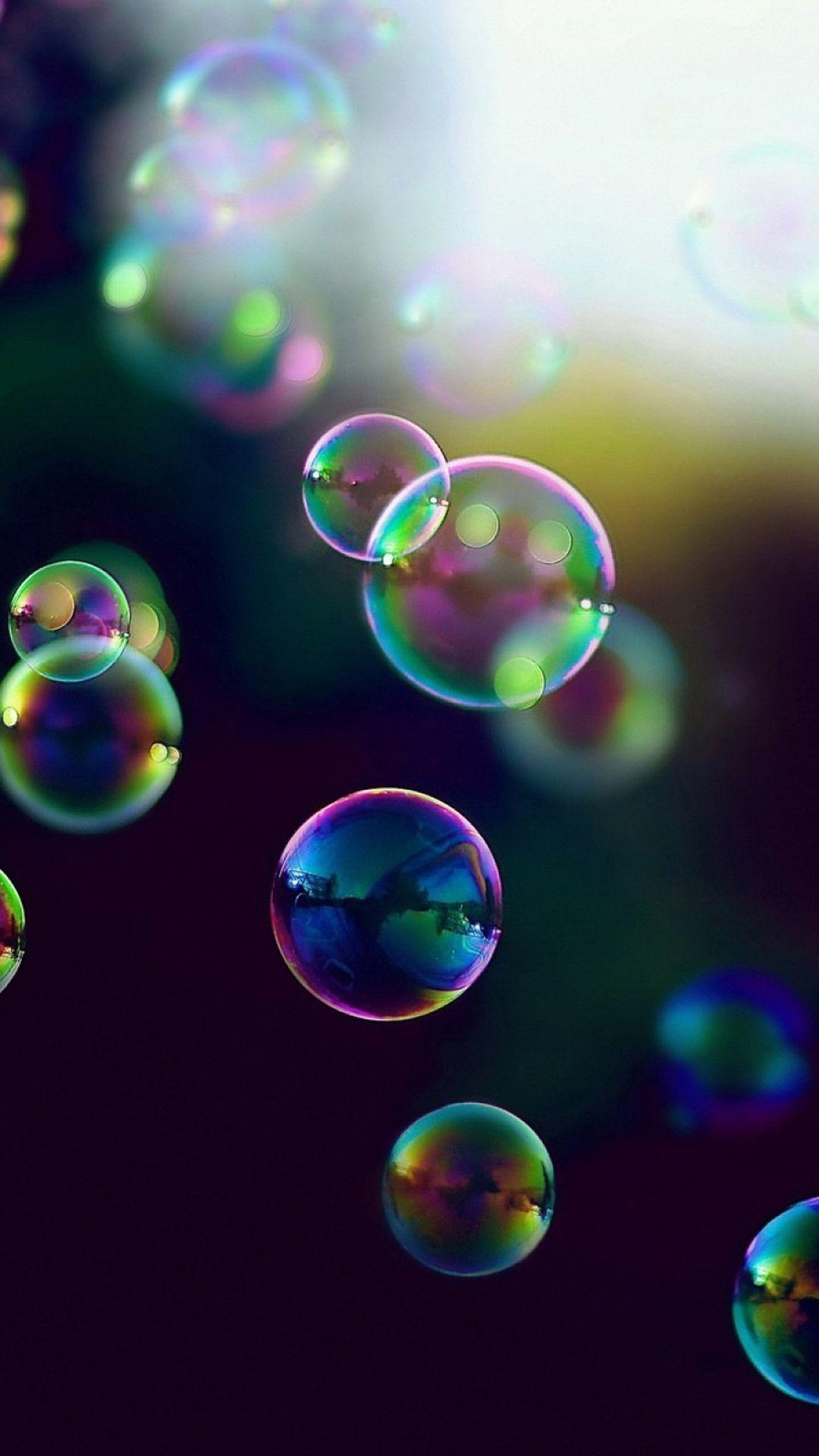 iridescence | bubbles iridescence wallpaper - 1080x1920