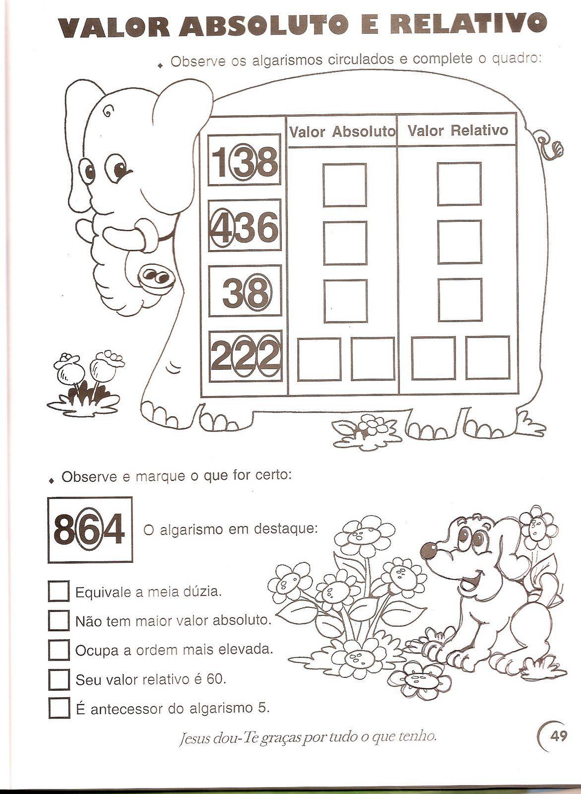 Coletanea De Atividades De Matematica 3o E 4o Ano