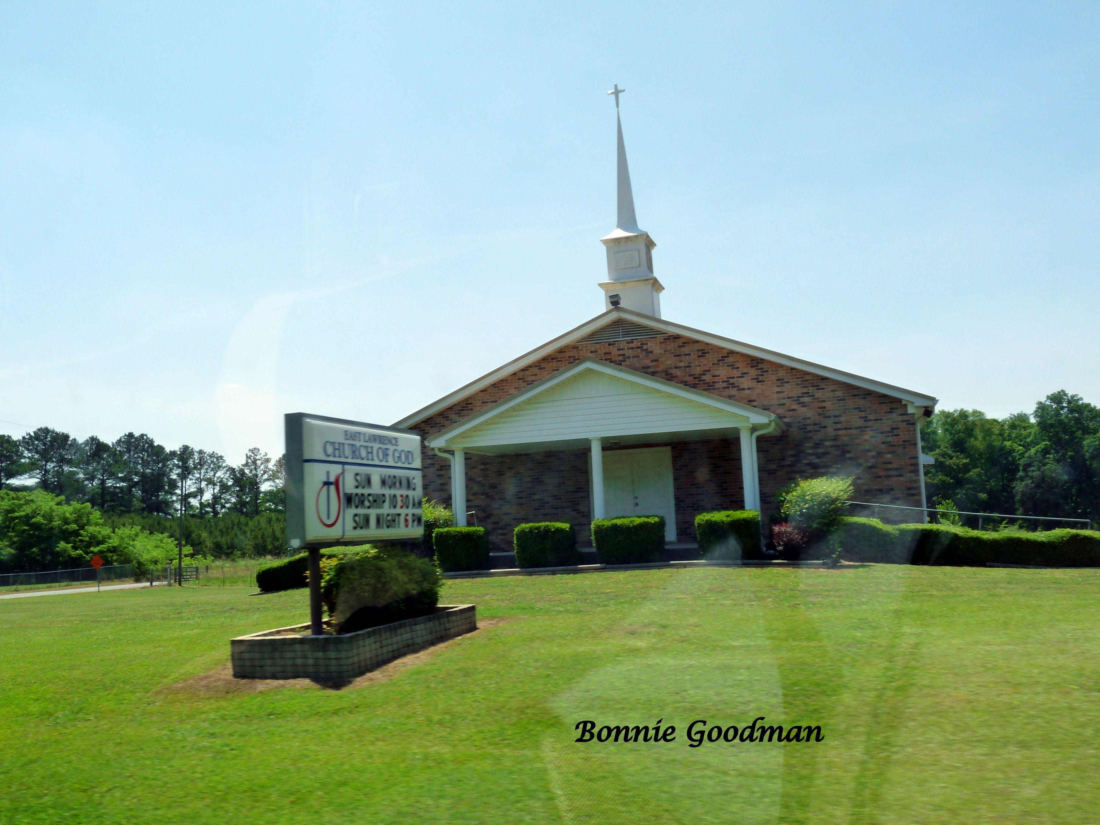 East Lawrence Church Of God, Lawrence County, ALabama