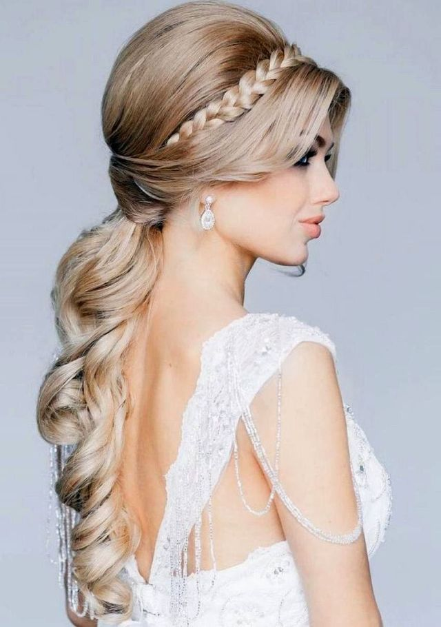 grecian wedding hairstyles for long hair ~ the royal weddings