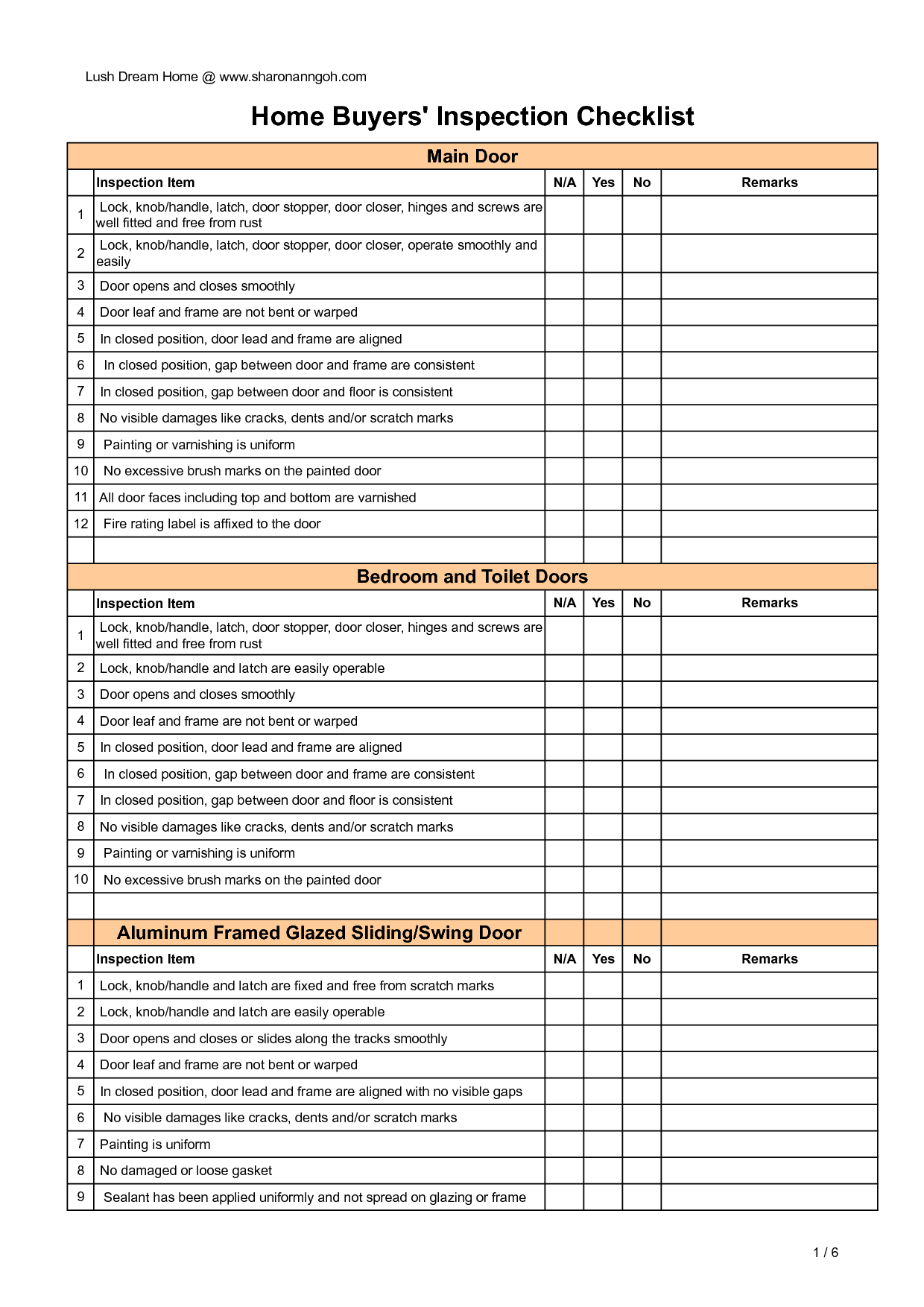 Creating A Home Inspection Checklist Using Microsoft Excel