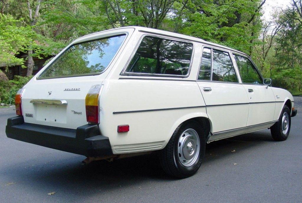 1978 Peugeot 504 Wagon yıllanmış arabalar Pinterest