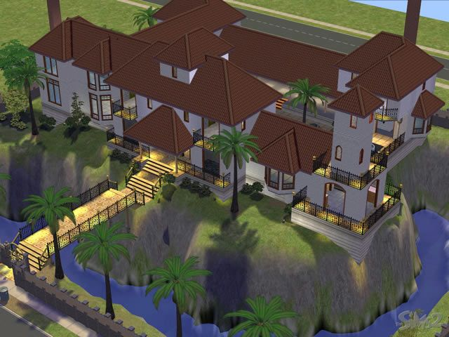 Image result for coolest houses ever made in sims