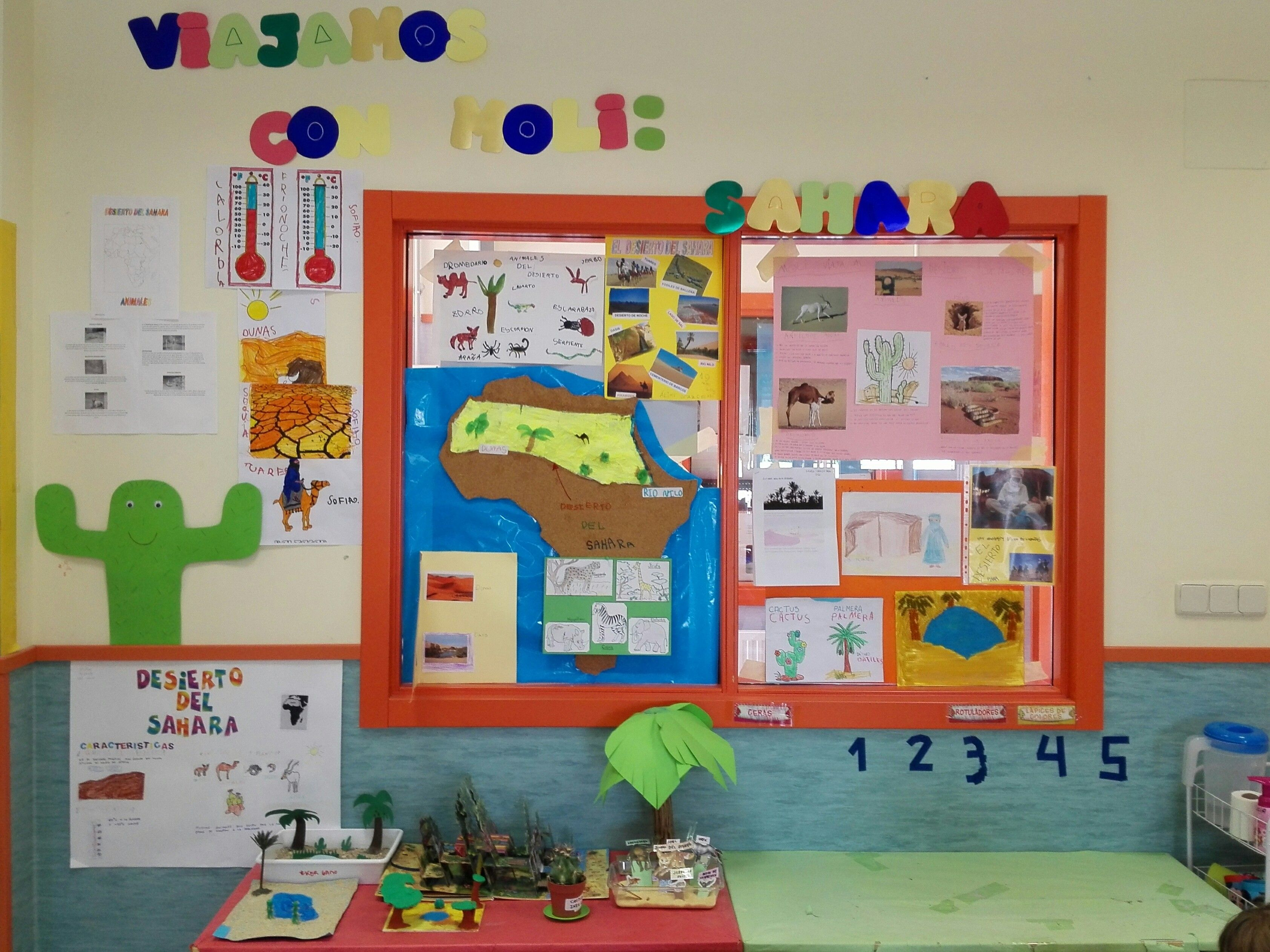 Proyecto Desierto Educacion Infantil
