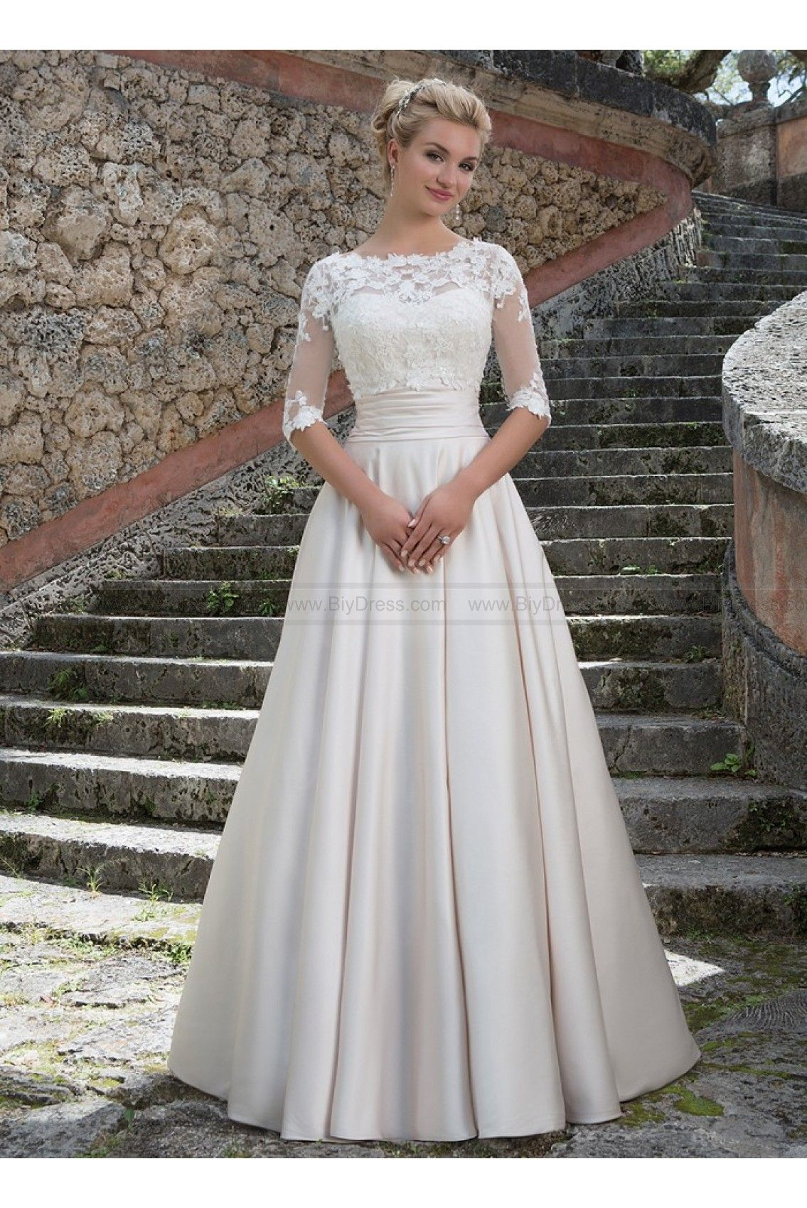 Sincerity Bridal Wedding Dresses Style 3877 Grace Kelly