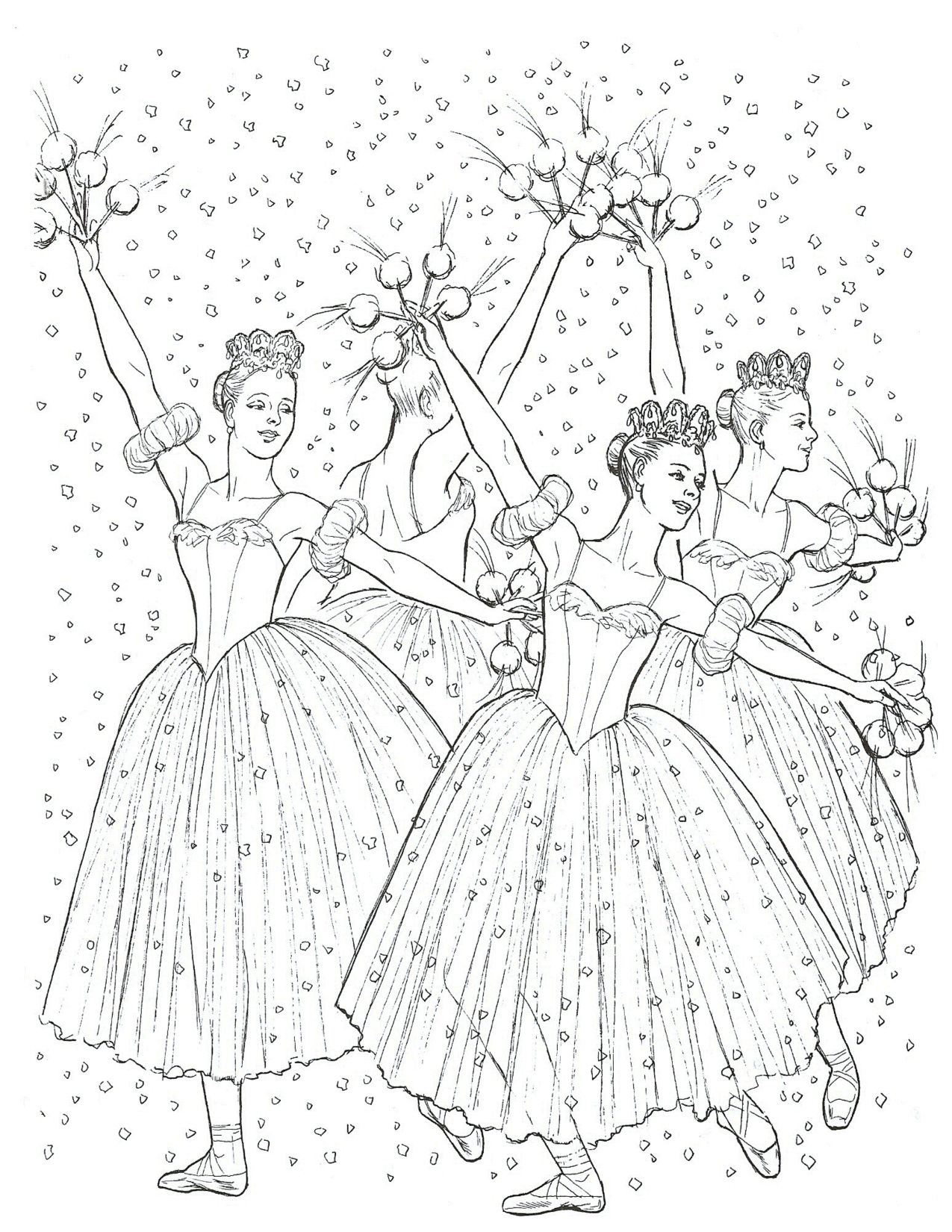 Images About Coloring Pages For Young Dancers On Pinterest