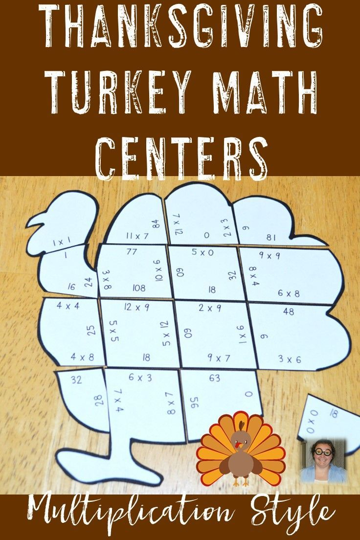 Thanksgiving Math Games Thanksgiving Activities