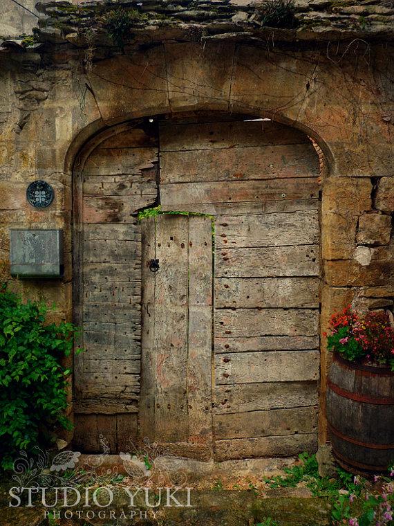rustic french country doors Old Door Photo, Rustic
