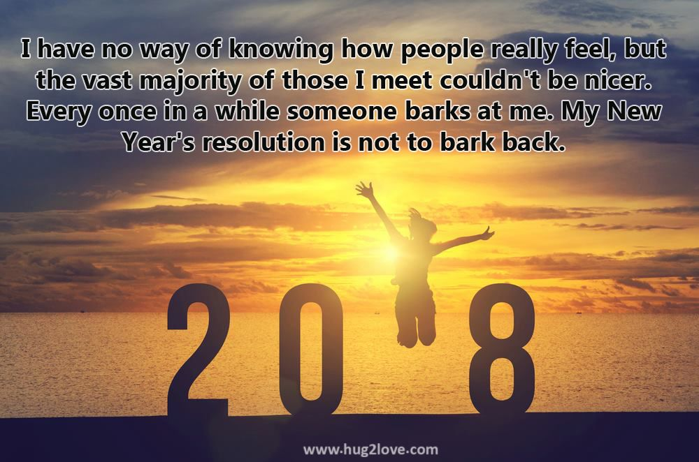 Funny New Year Resolution Quotes Happy New Year 2018