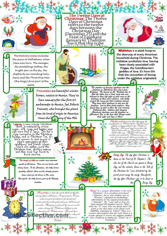 Merry Christmas! CHRISTMAS Pinterest English